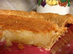 Simple Buttermilk Pie Recipe