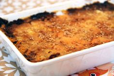 Parmentier de canard aux patates douces Macaroni And Cheese, Ethnic Recipes, Food, Cooking Food, Eat, Sweet Potato, Gratin, Recipes, Mac Cheese