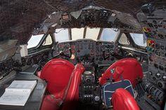 de Havilland Comet Office, think your's is crowded? De Havilland Comet, Commercial Plane, Passenger Aircraft, Flight Deck, Scale Models, Salisbury, Decks, Airplane, Planes