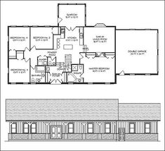 40x50 metal building house plans 40x60 home floor plans Pole barn house plans with basement