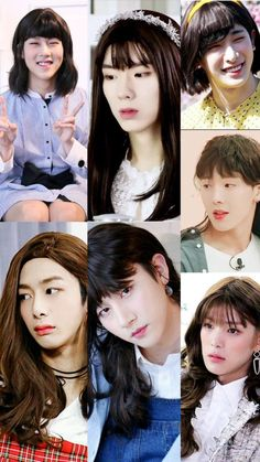 They are prettier than I'll ever be ? Gotta love Monsta X ? Jooheon, Monsta X Hyungwon, Shownu, Day6 Sungjin, Divas, Monsta X Funny, Young K, Funny Kpop Memes, Starship Entertainment