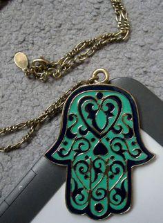 Hamsa NecklaceTattoo♦️Hand of Fatima خمسة / חַמְסָה / Hamsa / AMULET / KHAMSAH / FOSTERGINGER @ Pinterest ♦️