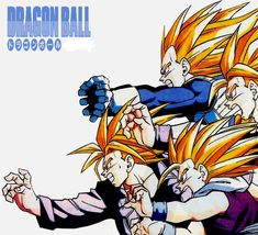 Vintage DRAGON BALL Z pict (1993)from my scan Club Dorothée Mag collector (re-work)