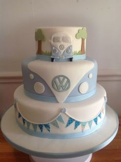 VW wedding cake - Cake by Iced Images Cakes (Karen Ker) - CakesDecor