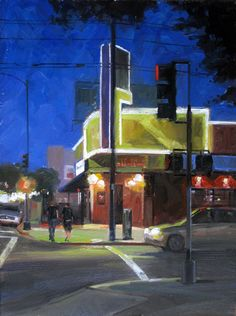 5th & Robinson - 9x12 - Oil - by Danny Griego
