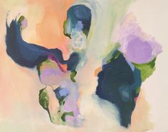 Abstract painting by Annie Everingham