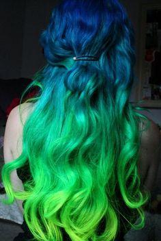 Seahawk Hair Colors  ||||