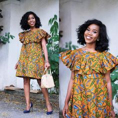 Swag up Your Style with These Up-To-Date Ankara Fashion Ensembles - Wedding Digest Naija African Print Dresses, African Print Fashion, African Fashion Dresses, African Attire, African Wear, African Women, African Dress, Fashion Prints, Ankara Fashion