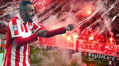 So far so great!Kostas Mitroglou has started the 2013-14 season full of passion and goals!So far in the first 7 matches he scored 3 hat tricks and one hat trick at Champions League!The man is on fire!We expect more during the season!Mitroglou and Saviola cooperate perfectly!