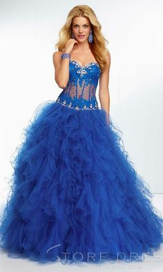 prom dresses ball gowns I like everything except the part where the skin is showing
