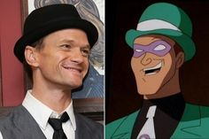 Neil Patrick Harris / The Riddler - Celebrities Who Look Like Iconic Cartoon Characters - Photos