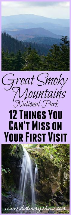 Don't miss these 12 amazing spots in Great Smoky Mountains National Park -- written by a former park ranger!!