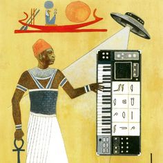Space is the Place  #sunra #afrofuturism #synth