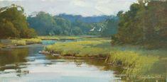 Still Water Cruising : Cindy Baron : Tilting at Windmills Gallery