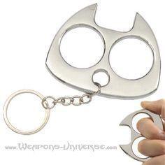brass knuckles | brass knuckles # ku9007s fat cat keychain knuckle crusher chrome