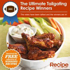 Ultimate Tailgating Recipe Winners
