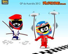 formula one cartoon images | Continental Circus: Formula 1 em Cartoons - O drama de Maldonado ...