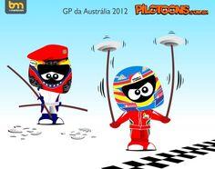 formula one cartoon images | Continental Circus: Formula 1 em Cartoons - O drama de Maldonado ...
