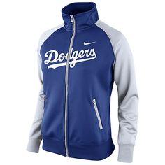 Los Angeles Dodgers Women's Track Jacket by Nike