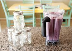 My husband became hooked on smoothies last year after we bought a Vitamix. He drinks one every single morning. I am thrilled about this because there was a time not so long ago when he would never dream of eating fruits or vegetables. He has graduated from straight fruit to fruits and vegetables, and now [...]