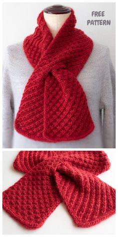 Knit Star Stitch Cherry Pie Scarf Free Knitting Patternng Pattern - Knitting patterns, knitting designs, knitting for beginners. Knitting Stitches, Knitting Patterns Free, Knit Patterns, Free Knitting, Free Pattern, Knitting Patterns For Scarves, Free Scarf Knitting Patterns, Loom Knitting Scarf, Cross Stitches