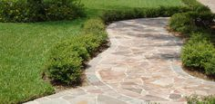 Crazy paving natural stone flooring