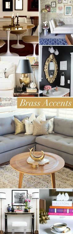 Interior Style File: Brass Accents