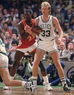 Larry Bird vs Dominique Wilkins from SI 1986