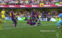 Villarreal 0-1 Barcelona: Full match highlights Full Match, Match Highlights, Barcelona, Abs, Nice, Videos, Crunches, Barcelona Spain, Abdominal Muscles