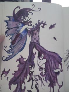 First fairy drawing by ~RachelDarkAngel