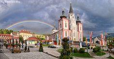 Basilika-Regenbogen Heart Of Europe, Central Europe, The Republic, Capital City, Alps, Austria, Taj Mahal, Mansions, Country