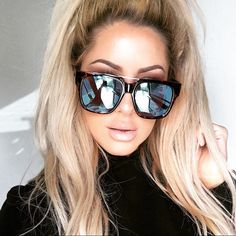 """Love these """"Mila"""" glasses by Chrisspy and Quay Australia!"""