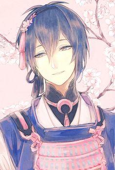 He reminds me of an anime character I created Hot Anime Guys, Cute Anime Boy, Anime Love, Manga Boy, Manga Anime, Anime Art, Anime Style, Touken Ranbu Mikazuki, Bishounen