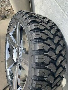 Condition is chrome v max wheels ( replicas RBPSet of 4 mounted & balanced Can add tpms alsoWill only ship on pallet bc of weight bolt pattern Rims And Tires, Wheels And Tires, Car Wheels, Silverado Wheels, Chevrolet Silverado, Replica Wheels, Mustang Wheels, Truck Rims, Diy Home Gym