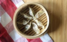 Spinach and Cream Cheese Dim Sum via The Stylesmith
