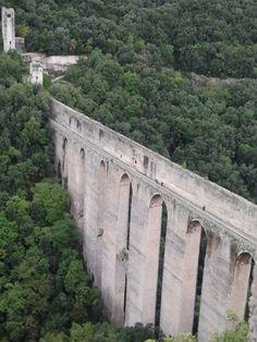 Spoleto középkori híd Italy, Travel, Italia, Viajes, Destinations, Traveling, Trips