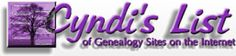 Links to many genealogy sites.
