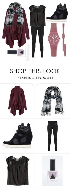 """""""Casual Sunday Winter"""" by blackpoppy45 on Polyvore featuring mode, H&M, Ash, True Religion, women's clothing, women, female, woman, misses et juniors"""