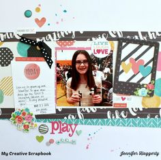 Play - My Creative Scrapbook April Main Kit 2016. Simple Stories - Carpe Diem Collection