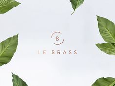 """""""Le Brass is a Sleek & Stylish Homeware Brand, born in Australia. The company asked us to create a feminine, minimalist brand, with a touch of elegance and luxury.Nature, relax & paradise beaches, combined with luxury textures as bronze and marble. We designed for brand: logo and stationery. We developed the Brandbook, marking design guidelines […]"""