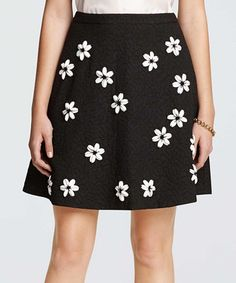 Look what I found on #zulily! Black Floral Fall Skirt #zulilyfinds