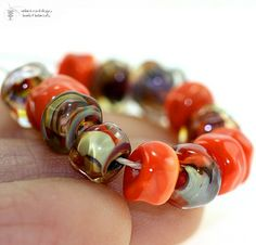 Lampwork Beads PHOENIX Organic Seeds!  -bought them!