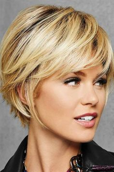 Textured Fringe Bob by Hairdo Wigs - Heat Friendly Synthetic Wig - Hair cuts - Layered Bob Hairstyles, Short Bob Haircuts, Short Hairstyles For Women, Hairstyles Haircuts, Straight Hairstyles, Shortish Hairstyles, Elegant Hairstyles, Chin Length Haircuts, Haircuts For Over 60
