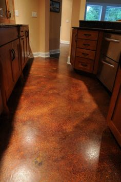 interior acid stain - concrete