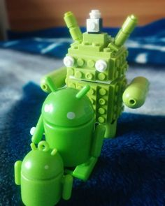I have an #Android family at home.