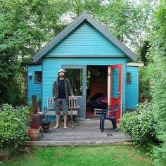 teal shed - Google Search