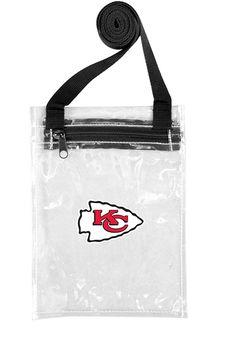 Kansas City Chiefs Stadium Approved 6.25 x 8.5 Purse http://www.rallyhouse.com/shop/kansas-city-chiefs-2210154 $9.99