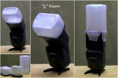 How to make a free flash diffuser! #PinUpLive