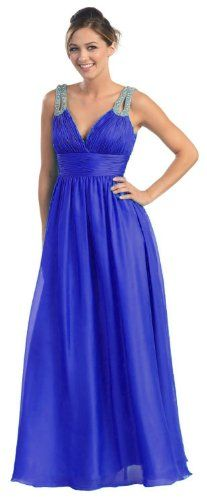 Prom Dress New Elegant Long Gown #642 (14, Royal « Dress Adds Everyday