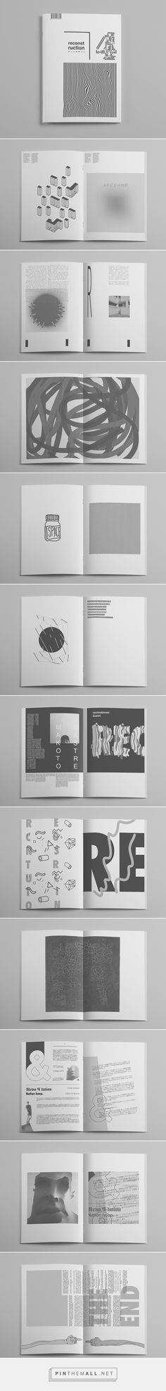 Graphic Design | Magazine Design | RE4 Fanzine by Ignat Makoto